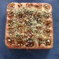 Apricot & Pistachio Cake